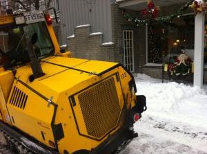 snow removal Santa