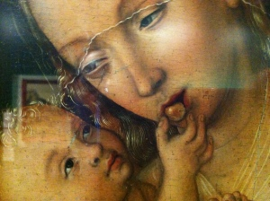 Baby Jesus Grapes Cranach
