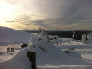 Levi ski area