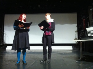 singers at presentation