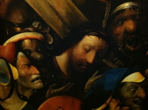 Jesus carrying cross Bosch