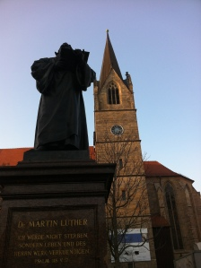 Erfurt Luther statue