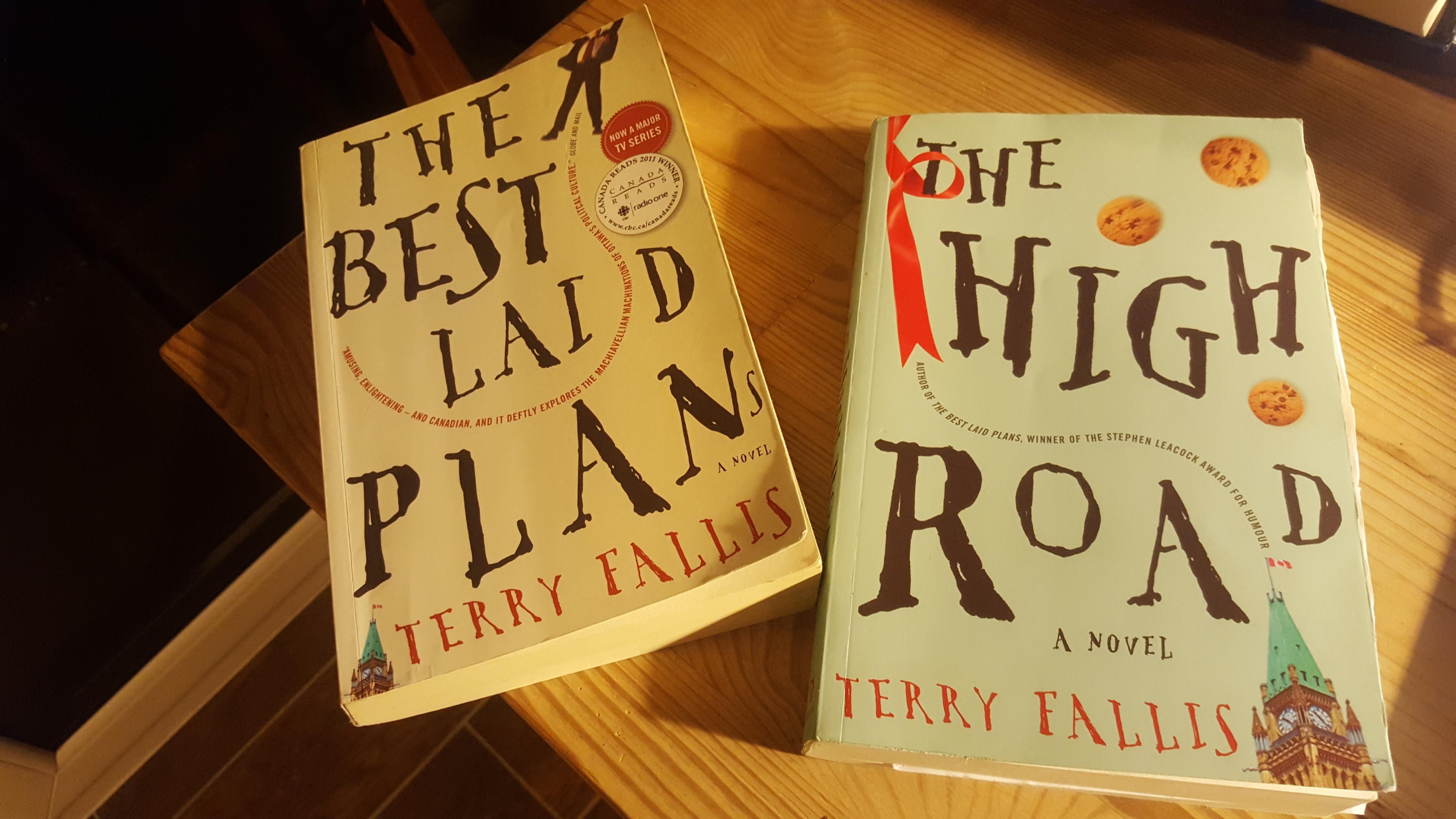 Terry Fallis books 2020